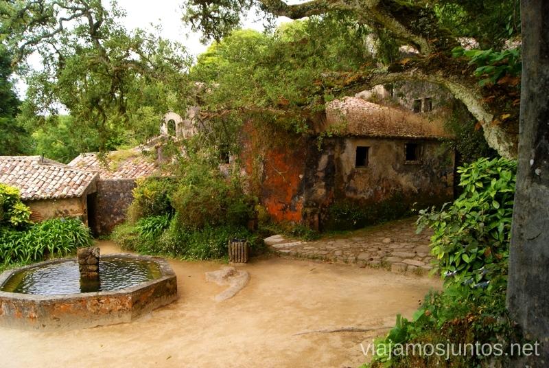 Capuchos Consejos prácticos y Que ver en Sintra, nuestro itinerario de un día por los parques y palacios #ViajarConSuegra