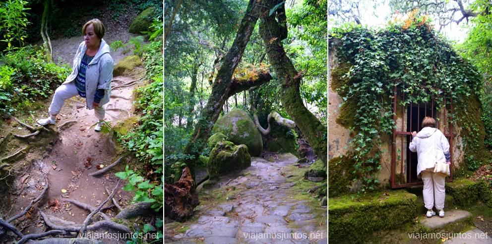 Los caminos del Convento de los Capuchos Que ver en Sintra, nuestro itinerario de un día por los parques y palacios #ViajarConSuegra
