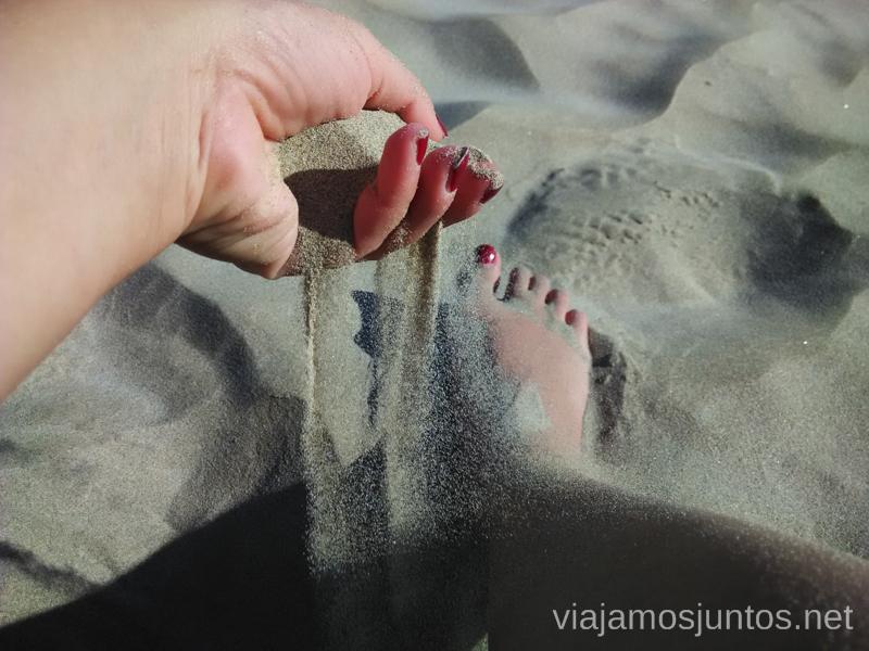 Arenita #ViajarConSuegra por España y portugal, playas, mar, beach