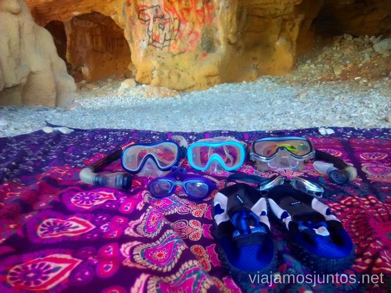 ¿Un poco de snorkling en el sitio secreto? Bueno, de secreto poco ;) #ViajarConSuegra por el Sur de España, playas, mar, beach