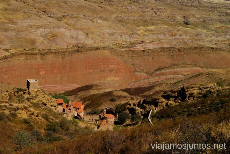 David Gareja, Georgia Itinerario de viaje por Georgia. 17 días. Gran Cáucaso Parte II Tbilisi Tiflis Kutaisi Vardzia Batumi la Playa Costa