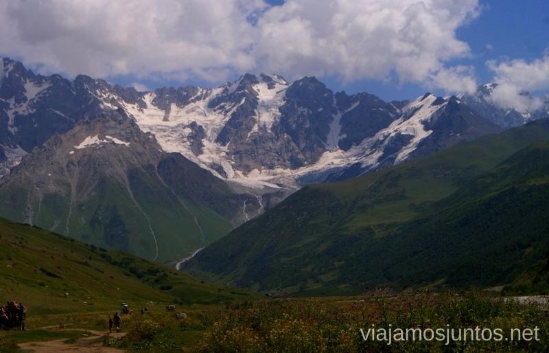 Naturaleza monumental - es el Gran Cáucaso Costumbres de Georgia, curiosidades y tradiciones