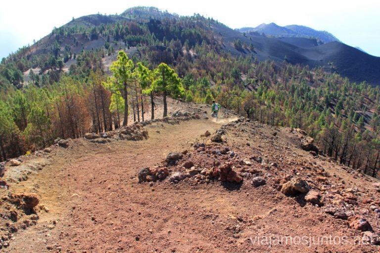 Bajando... a todo gas Ruta de los Volcanes, en la isla de la Palma, Islas Canarias #LaPalmaJuntos