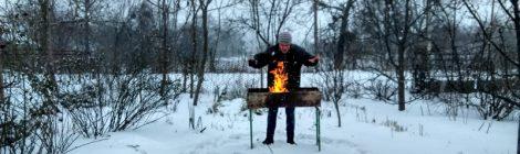 Jugando con fuego Celebrando año nuevo viejo en ucrania. Propósitos del Año Nuevo