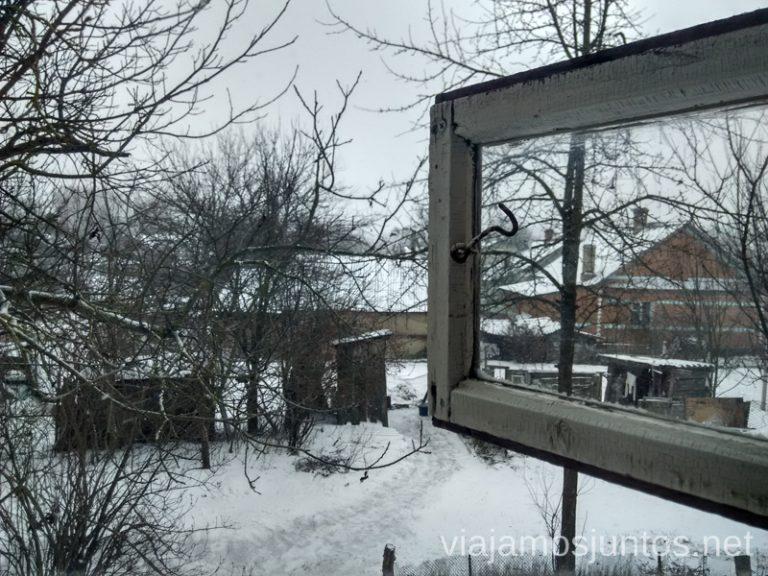 Las vistas desde una ventana La situación actual en Ucrania