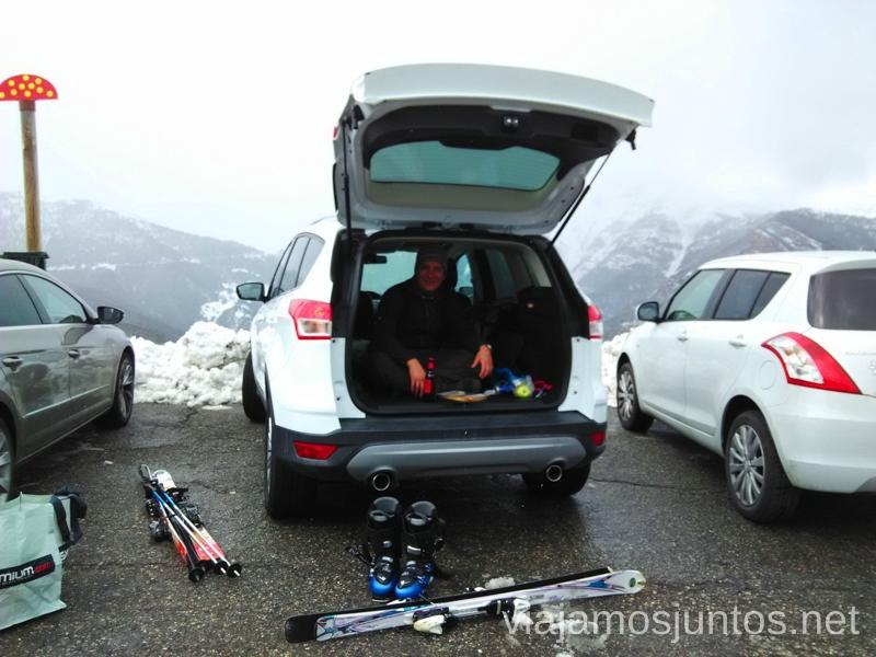Mejor sitio para descansar, ¿qué os parece? Información práctica para esquiar en Vallnord, Andorra. Consejos y nuestras experiencias