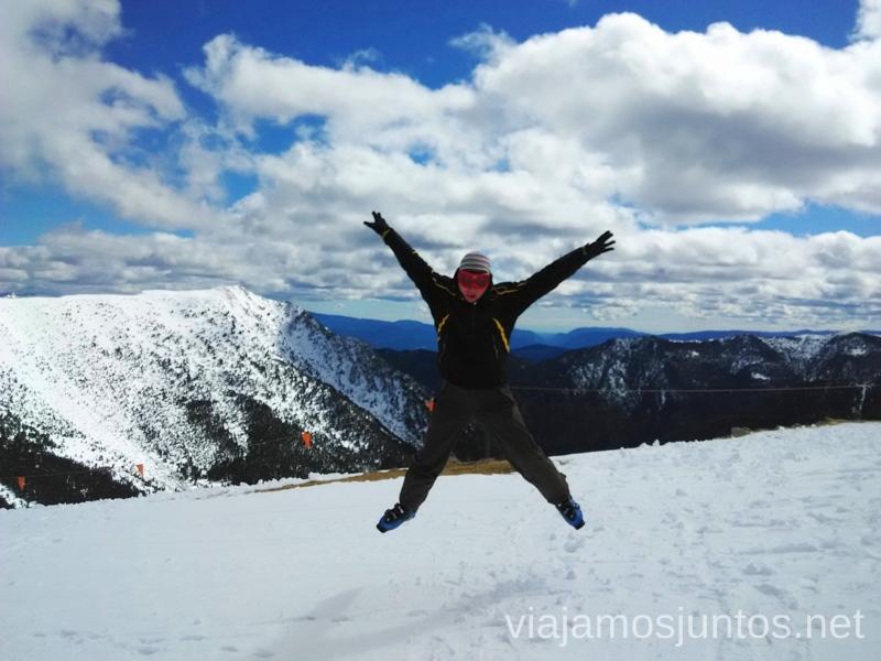 Un salto de felicidad en Vallnord, Andorra Información práctica para esquiar en Vallnord, Andorra. Consejos y nuestras experiencias