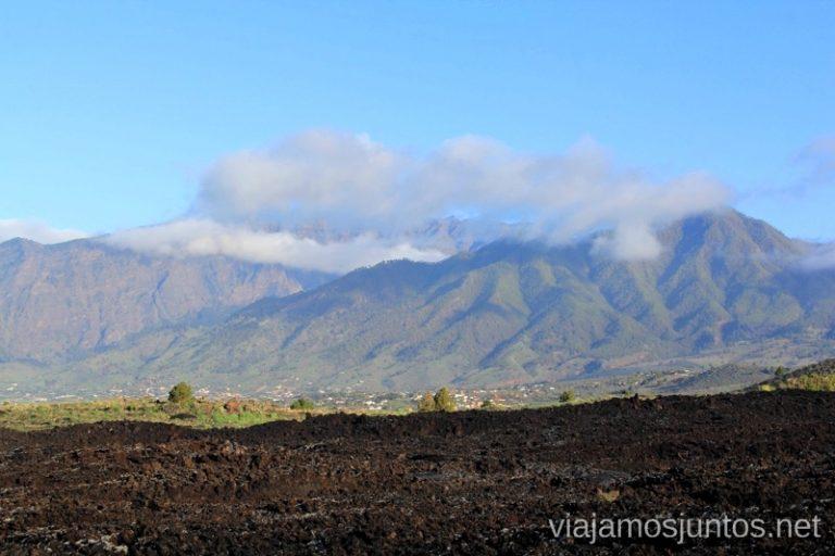 Vistas de la Caldera de Taburiente por fuera desde las Manchas Que hacer en la Palma, 4 actividades muy top