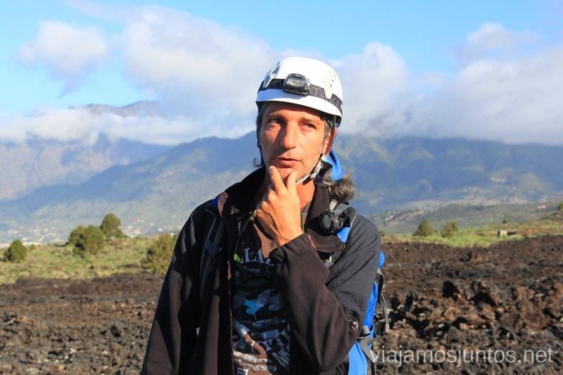 Esteban, el guía belga de Palma Outdoor, muy pro Que hacer en la Palma, 4 actividades muy top