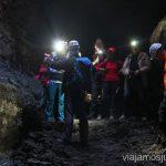 Dentro de la Cueva de la Paloma o tubo volcánico de Todoque Que hacer en la Palma, 4 actividades muy top