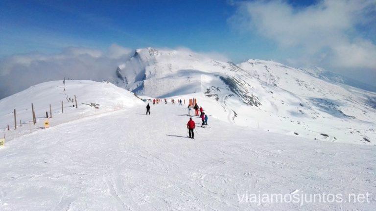 Peña Labra, una de mis pistas favoritas - por belleza - de Alto Campoo Esquiar en Alto Campoo. Descripción de mi estación de esquí favorita de Cantabria