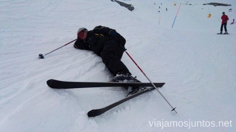 A veces eso de esquiar en Alto Campoo cansa... Esquiar en Alto Campoo. Descripción de mi estación de esquí favorita de Cantabria