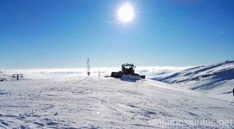 Esquiar en Alto Campoo, Cantabria