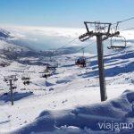El telesilla El Chivo: rápido y cómodo Esquiar en Alto Campoo. Descripción de mi estación de esquí favorita de Cantabria