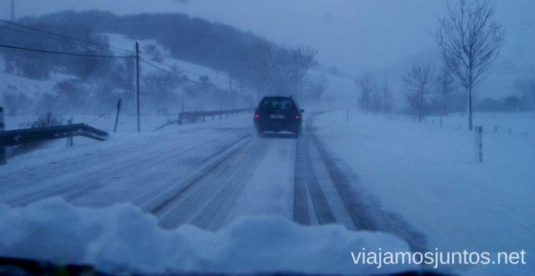 Conduciendo por Cantabria en invierno Esquiar en Alto Campoo. Consejos prácticos Ahorrar en alojamiento y transporte Lowcost