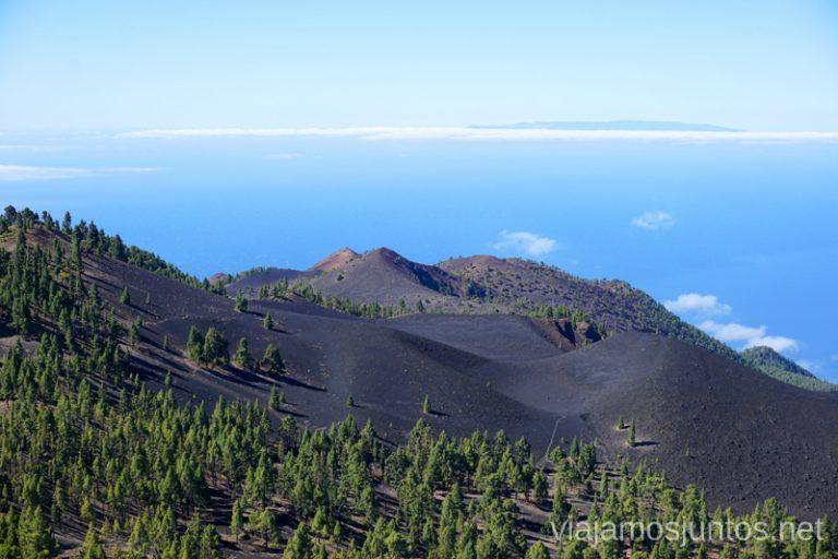 Ruta de los Volcanes. Guía para viajar a la Palma.