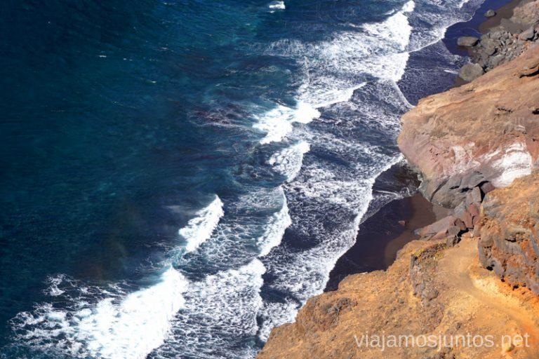 Playas salvajes de la Palma.