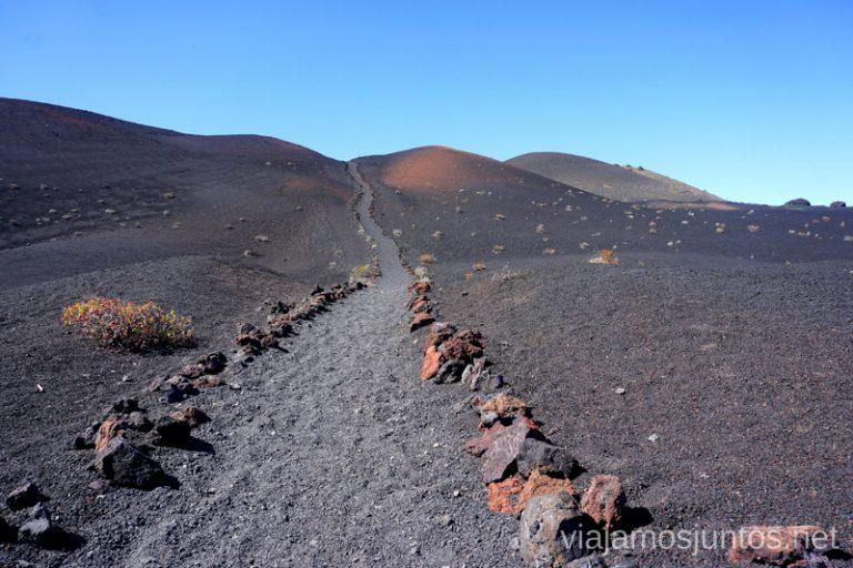 Ruta al volcán Teneguía, La Palma.