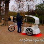 ¿Bici Taxi? o ¿cómo se llama este lujo de transporte con conductor propio? París, Francia. Que ver y que hacer Como moverse. Datos prácticos