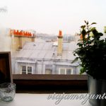 Vistas desde el alojamiento París, Francia. Comida, alojamiento, que ver.