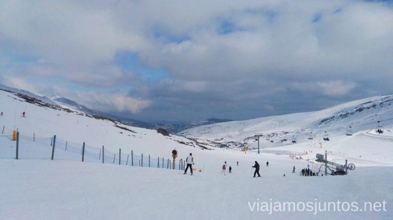 Alto Campoo en un día semi-nublado Nuestras estaciones de esquí favoritas. Dónde esquiar y cómo ahorrar