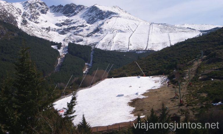 La Pinilla en uno de sus peores días Nuestras estaciones de esquí favoritas. Dónde esquiar y cómo ahorrar