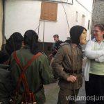 Un machurrero y una señora Machurreros de Pedro Bernardo, Ávila Mascaradas Abulenses en Gredos Carnavales
