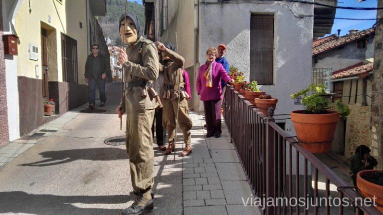 ¿Un selfie con machurreros? Machurreros de Pedro Bernardo, Ávila Mascaradas Abulenses en Gredos Carnavales