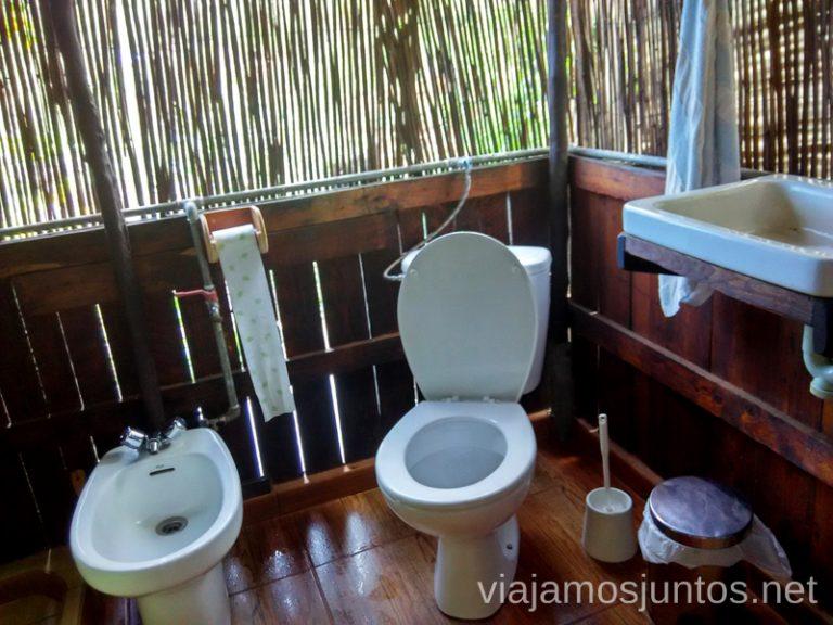 Baños al natural en la Palma Alojamiento económico en la Palma, Islas Canarias