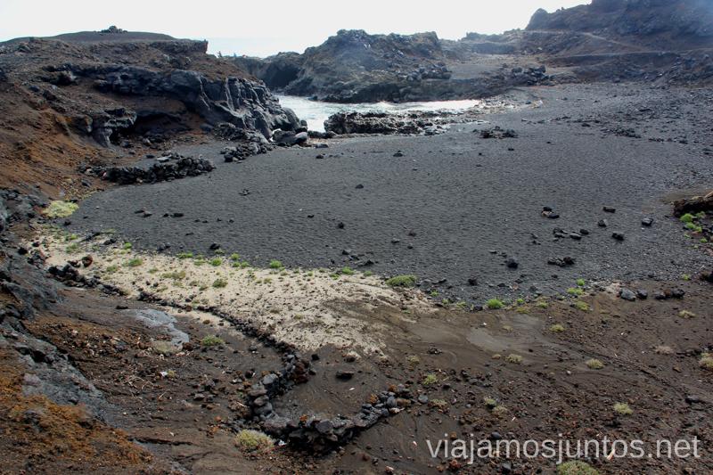 Playas de Funecaliente Las playas de la Palma, Islas Canarias. Mejores playas.