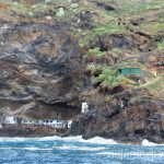 Candelaria desde el mar Las playas de la Palma, Islas Canarias. Mejores playas.
