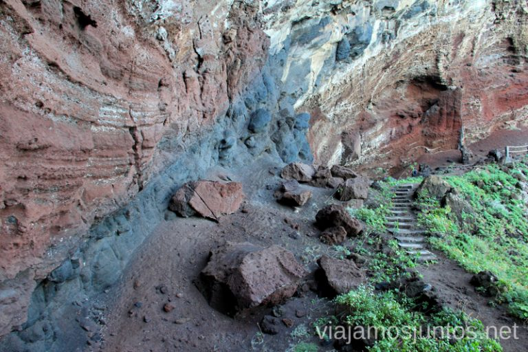 Bajada a la playa de Nogales Las playas de la Palma, Islas Canarias. Mejores playas.