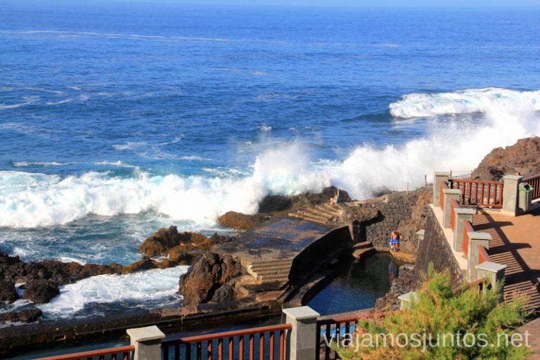 Dónde bañarse en la Palma, en invierno también. Pues, en la Fajana. Playas de La Palma, dónde bañarse en la Palma en invierno también