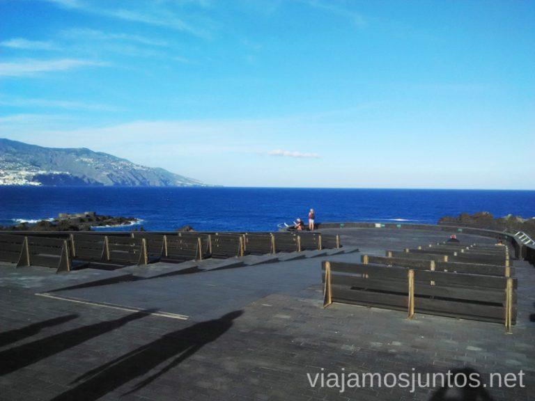Los Cancajos. Mirador al lado de la playa del mismo nombre Playas de La Palma, dónde bañarse en la Palma en invierno también