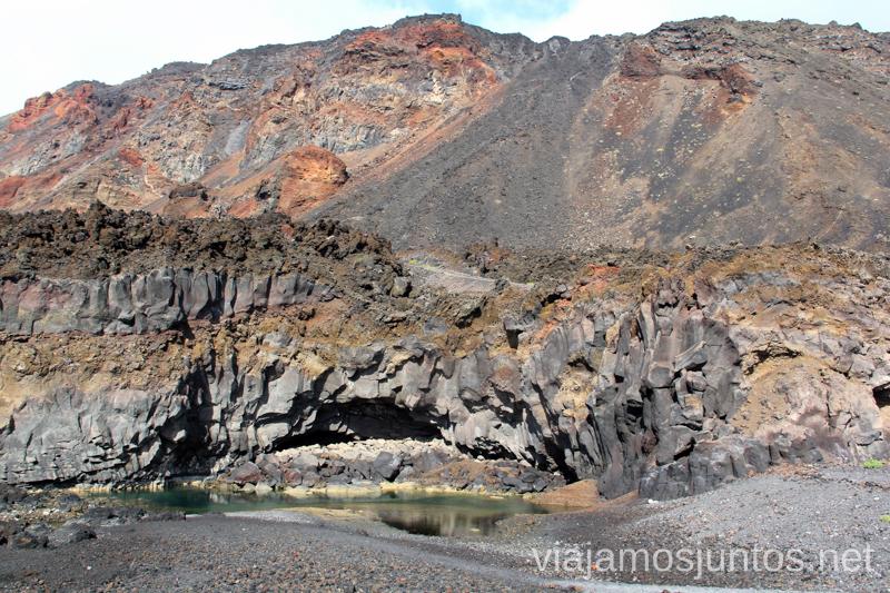 Piscinas naturales de la Playa Nueva, Fuencaliente Playas de La Palma, dónde bañarse en la Palma en invierno también