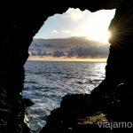 Atardecer desde la cueva de Ajuy 10 imprescindibles de Fuerteventura