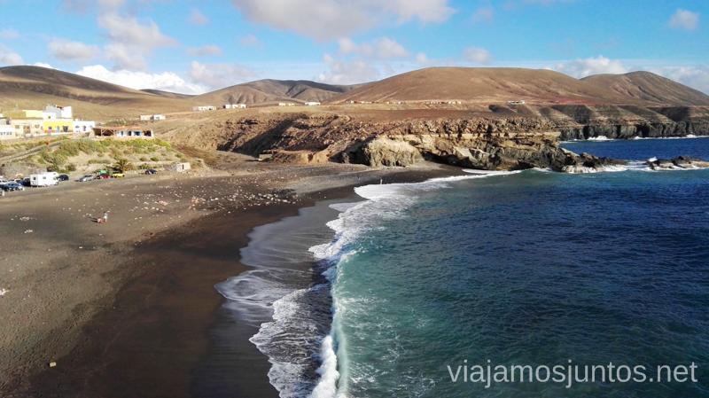 La playa de Ajuy 10 imprescindibles de Fuerteventura