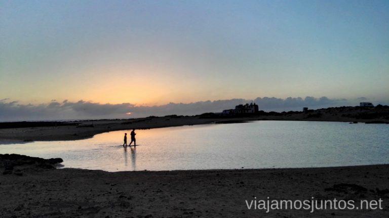 Atardeceres en los alrededores de El Cotillo Surfear en Fuerteventura