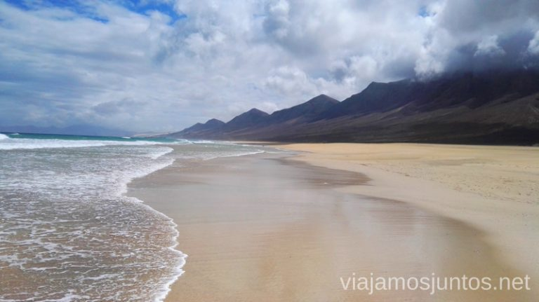 La mítica playa de Cofete 10 imprescindibles de Fuerteventura