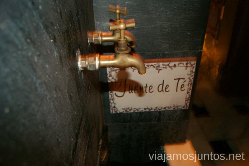 Un té de grifo en el hammam Al Andalus de Madrid - una gozada Que hacer en Madrid una tarde