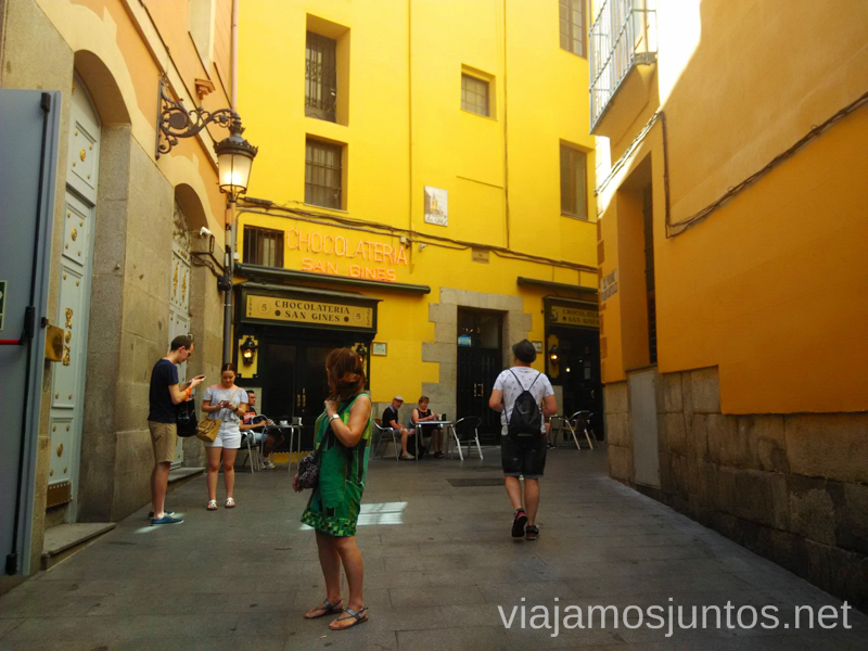 Chocolatería San Gines Que hacer en Madrid una tarde