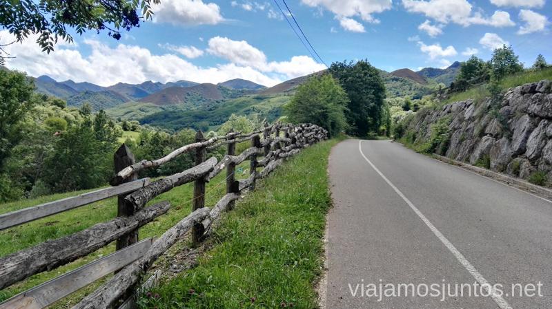 Hasta las carreteras molan en la Senda del Oso Senda del Oso en bici, Astrurias