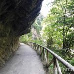 Medio túneles por el camino Senda del Oso en bici, Astrurias