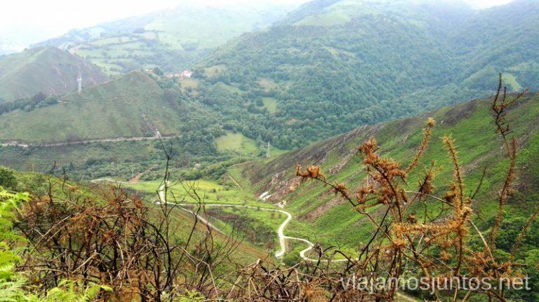 Vistas a las minas antiguas Qué ver y hacer en Belmonte de Miranda, Asturias