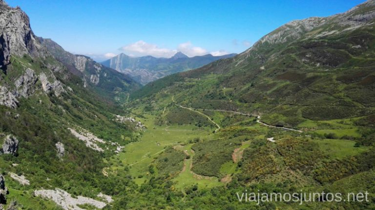 Valle de Saliencia Ruta de los lagos de Saliencia Parque Natural de Somiedo Asturias
