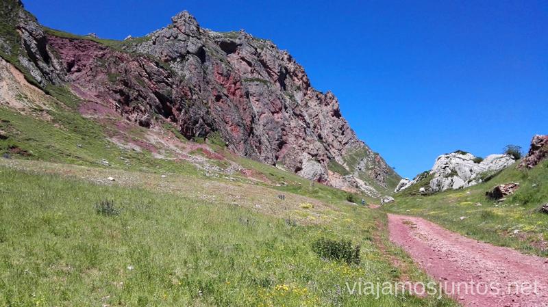 Mina Santa Rita, el área recuperado Ruta de los lagos de Saliencia Parque Natural de Somiedo Asturias
