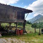 Hórreo en Saliencia, Parque Natural de Somiedo Ruta en coche por los pueblos con encanto del Parque Natural de Somiedo