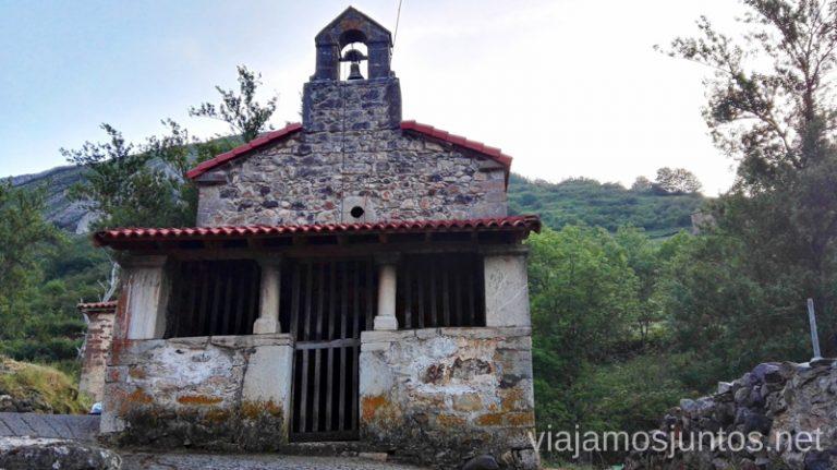 La iglesia de Perlunes Ruta en coche por los pueblos con encanto del Parque Natural de Somiedo