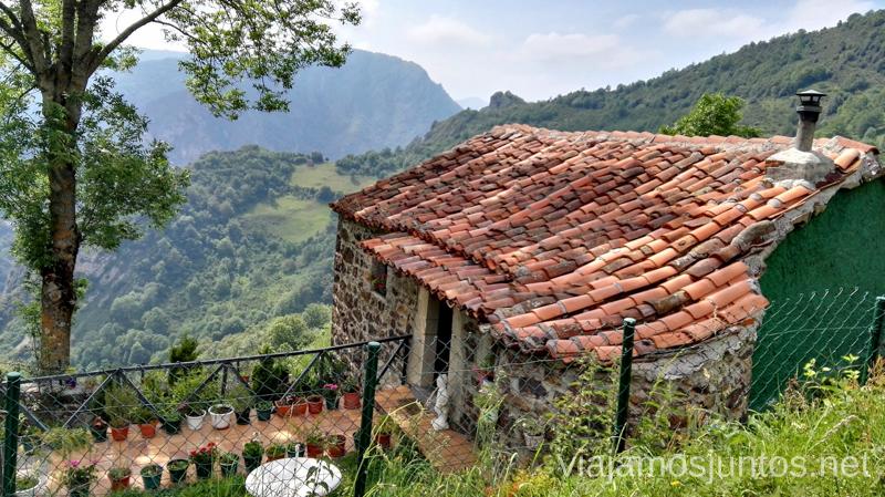 La Falguera, Parque Natural de Somiedo Ruta en coche por los pueblos con encanto del Parque Natural de Somiedo