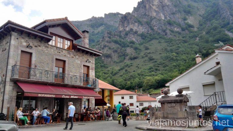 Pola de Somiedo, el pueblo más grande de la zona Ruta en coche por los pueblos con encanto del Parque Natural de Somiedo